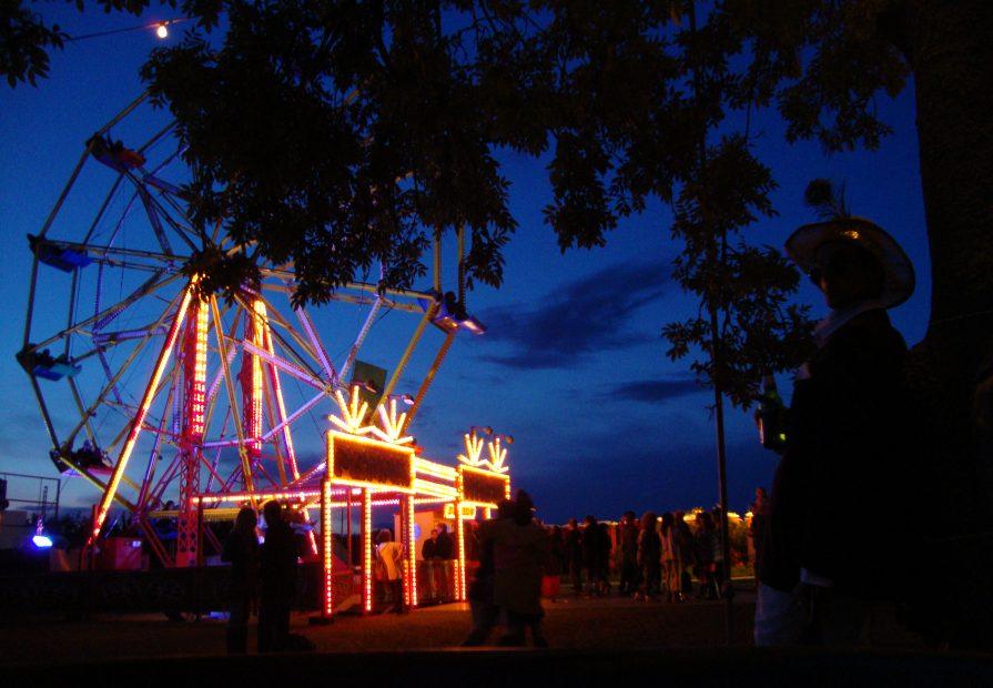 Festival fairground